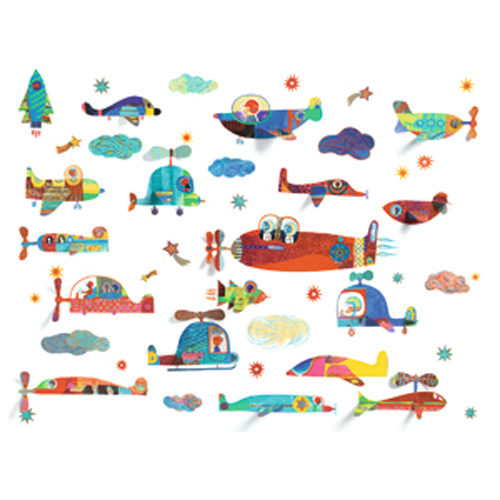 Image Stickers volume / Véhicules volants*