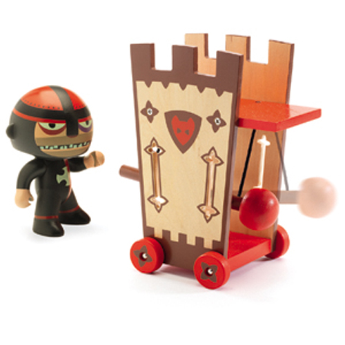 Image Arty toys / Darius & ze attack tower*