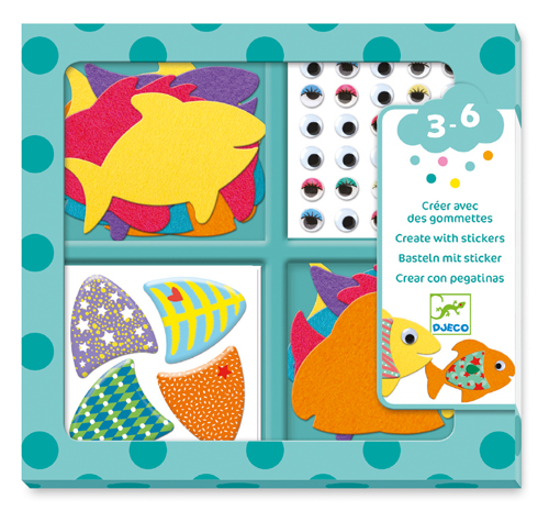 Stickers / I love fishes - ÎLO307