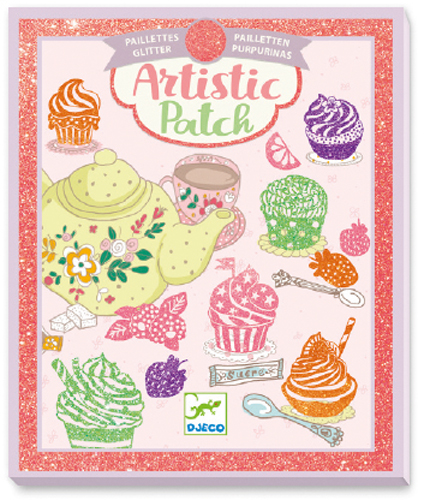 Image Artistic patch glitter / Gourmandises