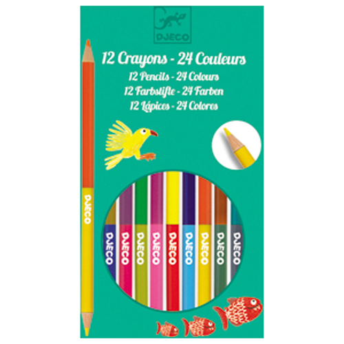 Image 12 double ended pencils