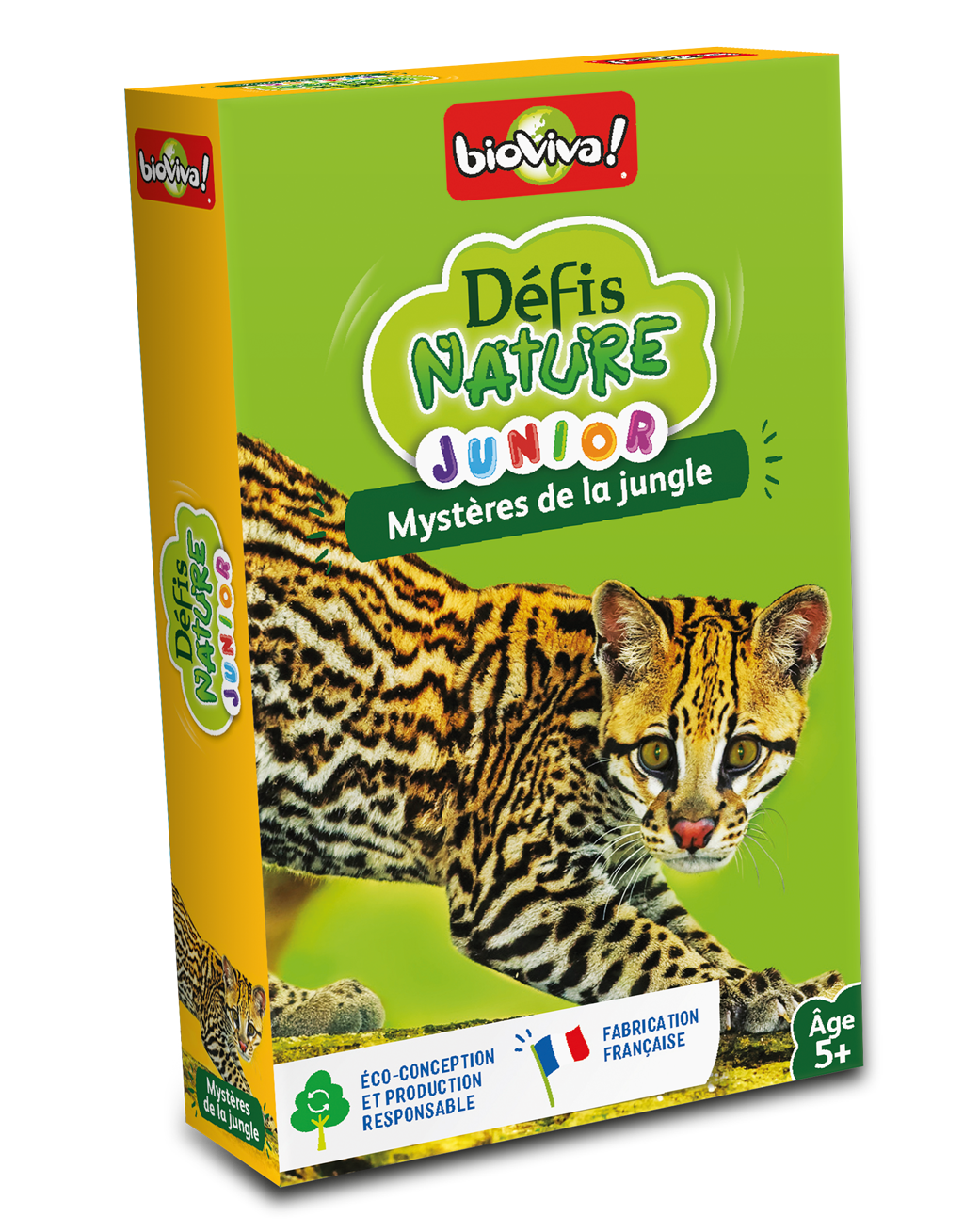 Image Défis Nature Junior / Mystères de la jungle (french)