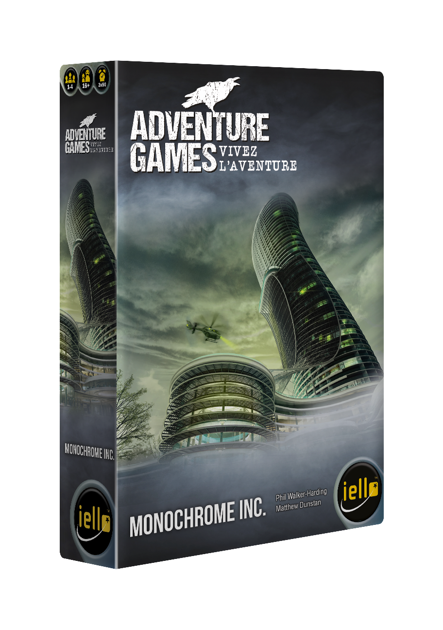 Image ADVENTURE GAMES : Monochrome (fr)