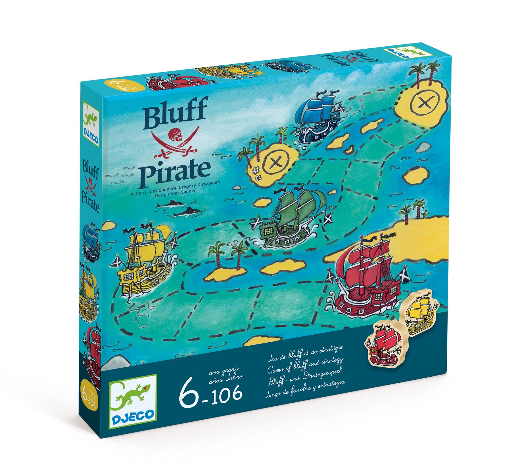 Bluff Pirate Djeco